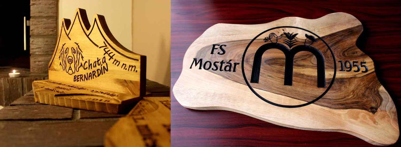 reklamné a darčekové predmety z dreva