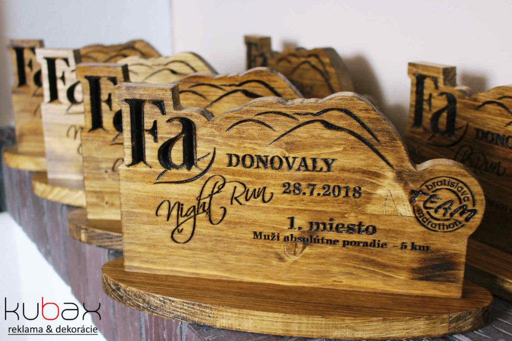 drevené trofeje